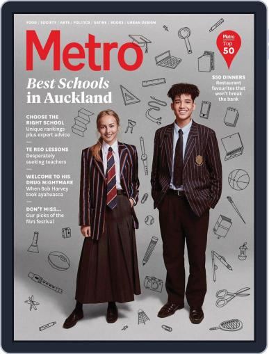 Metro NZ July 1st, 2018 Digital Back Issue Cover