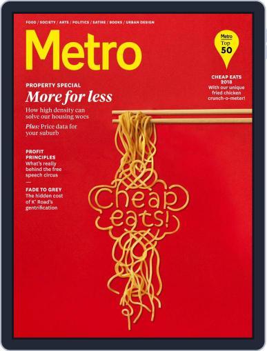 Metro NZ September 1st, 2018 Digital Back Issue Cover