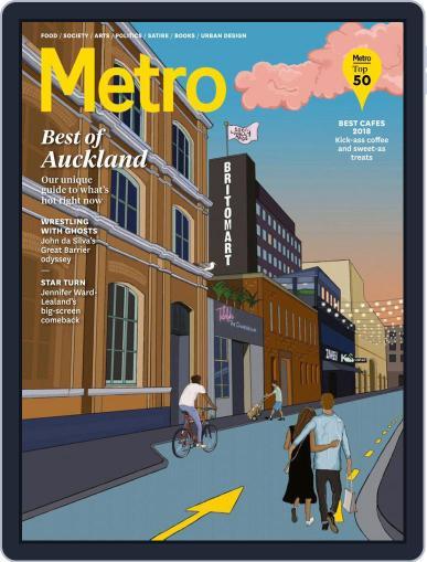Metro NZ November 1st, 2018 Digital Back Issue Cover