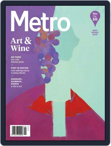 Metro NZ March 1st, 2019 Digital Back Issue Cover
