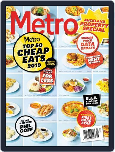Metro NZ September 1st, 2019 Digital Back Issue Cover