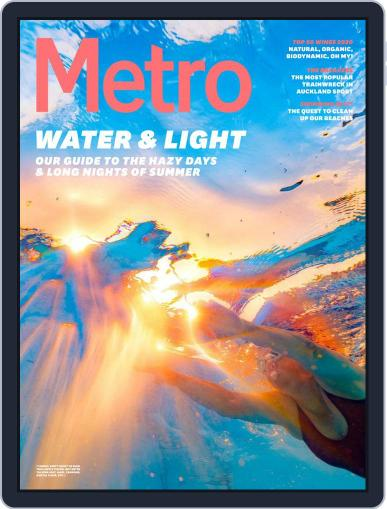 Metro NZ January 1st, 2020 Digital Back Issue Cover