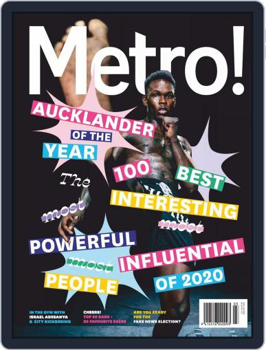 Metro NZ March 1st, 2020 Digital Back Issue Cover
