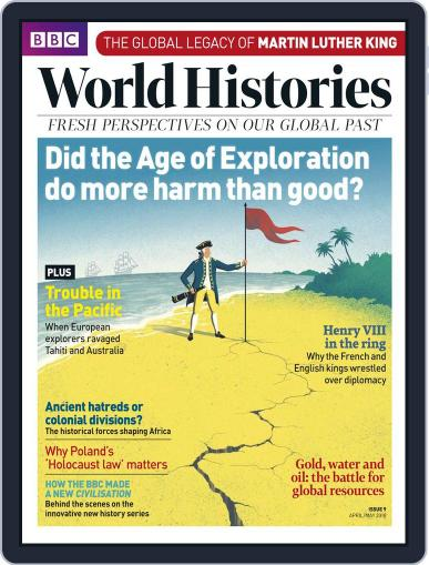 BBC World Histories (Digital) April 1st, 2018 Issue Cover