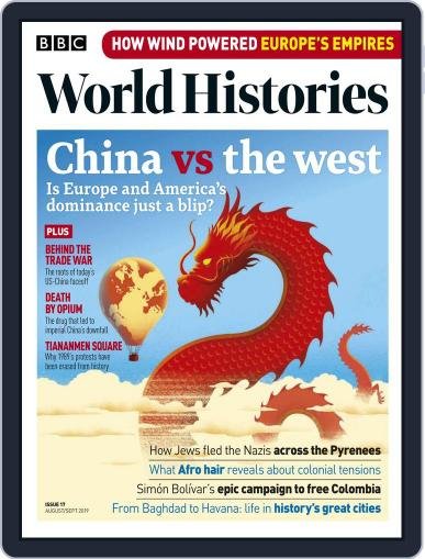 BBC World Histories (Digital) August 1st, 2019 Issue Cover