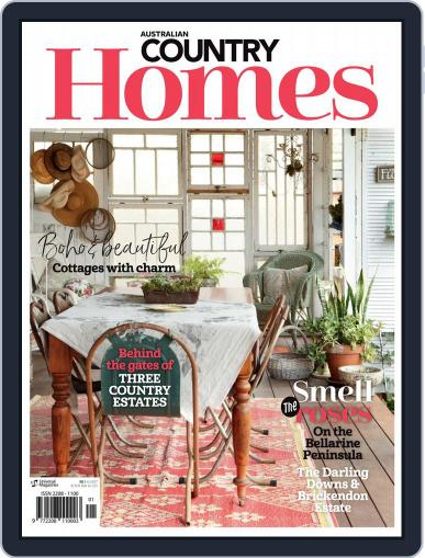 Australian Country Homes (Digital) December 1st, 2017 Issue Cover