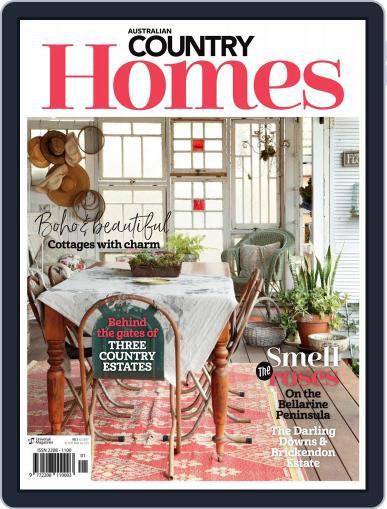 Australian Country Homes December 1st, 2017 Digital Back Issue Cover