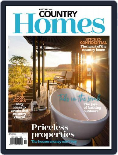 Australian Country Homes (Digital) February 1st, 2018 Issue Cover