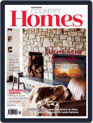Australian Country Homes May 1st, 2018 Digital Back Issue Cover