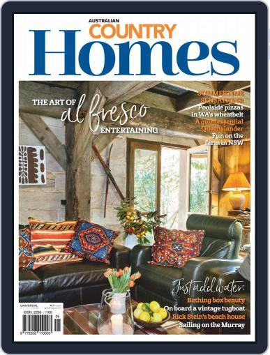 Australian Country Homes (Digital) December 1st, 2018 Issue Cover