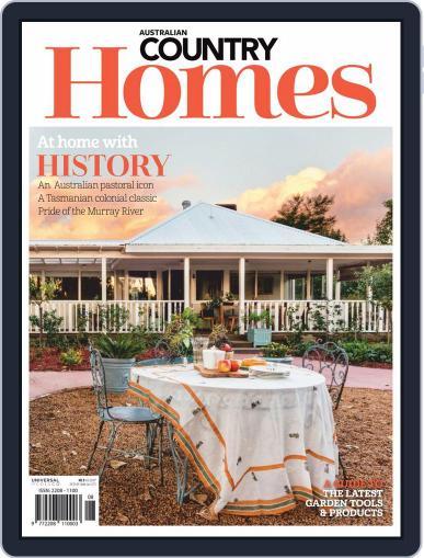 Australian Country Homes (Digital) September 1st, 2019 Issue Cover