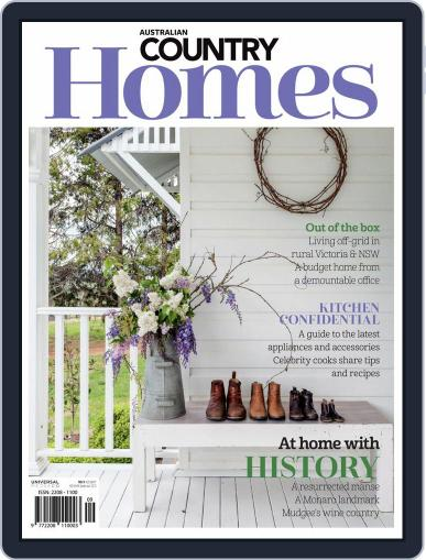 Australian Country Homes (Digital) December 1st, 2019 Issue Cover