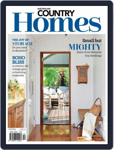 Australian Country Homes (Digital) March 1st, 2020 Issue Cover