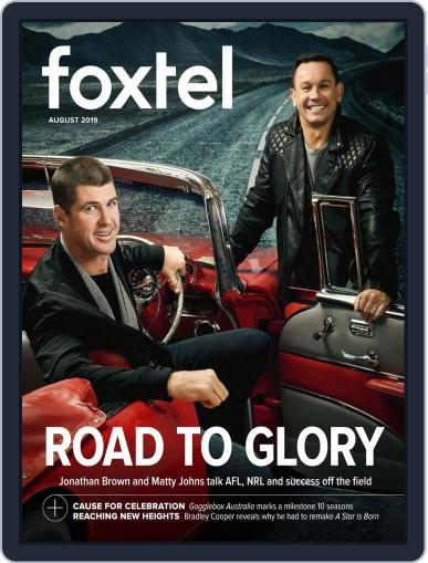 Foxtel (Digital) August 1st, 2019 Issue Cover