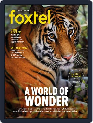 Foxtel (Digital) October 1st, 2019 Issue Cover