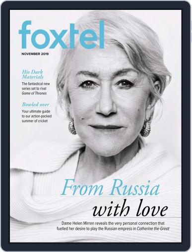 Foxtel (Digital) November 1st, 2019 Issue Cover