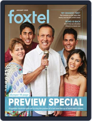 Foxtel (Digital) January 1st, 2020 Issue Cover