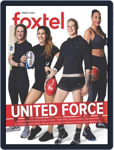 Foxtel (Digital) March 1st, 2020 Issue Cover