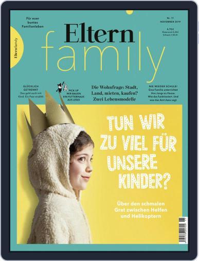 Eltern Family November 1st, 2019 Digital Back Issue Cover