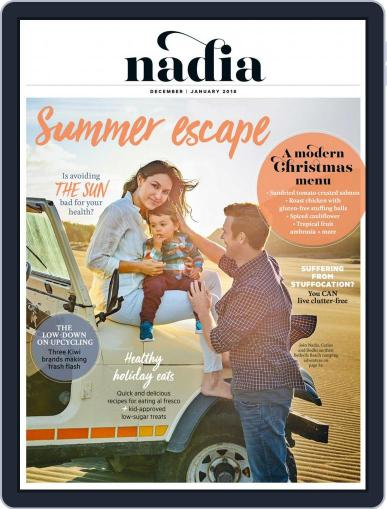 Nadia December 1st, 2017 Digital Back Issue Cover