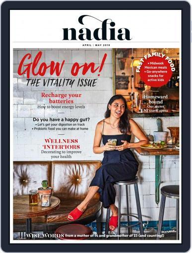 Nadia April 1st, 2018 Digital Back Issue Cover