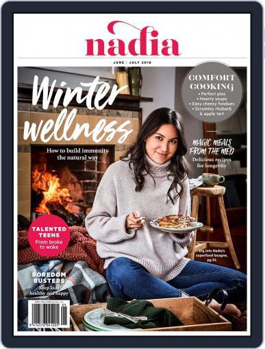 Nadia June 1st, 2018 Digital Back Issue Cover