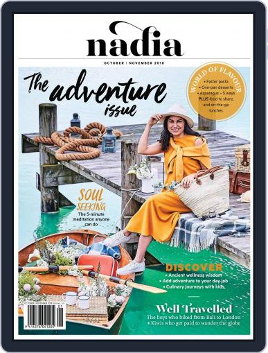 Nadia October 1st, 2018 Digital Back Issue Cover
