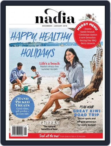 Nadia December 1st, 2018 Digital Back Issue Cover