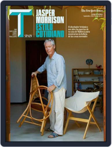 T Magazine SPAIN (Digital) September 1st, 2018 Issue Cover