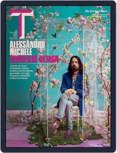 T Magazine SPAIN (Digital) November 1st, 2018 Issue Cover