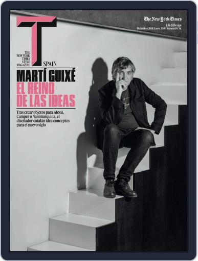 T Magazine SPAIN (Digital) December 1st, 2018 Issue Cover