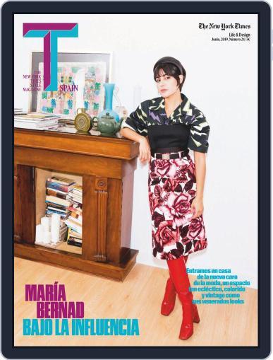 T Magazine SPAIN (Digital) June 1st, 2019 Issue Cover
