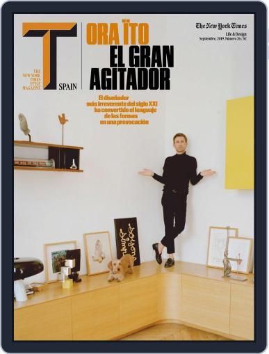 T Magazine SPAIN (Digital) September 1st, 2019 Issue Cover