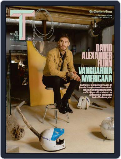 T Magazine SPAIN (Digital) November 1st, 2019 Issue Cover