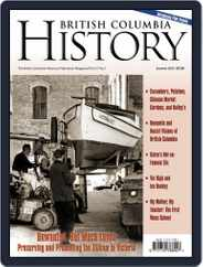 British Columbia History (Digital) Subscription June 1st, 2018 Issue