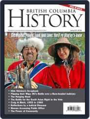 British Columbia History (Digital) Subscription February 1st, 2019 Issue