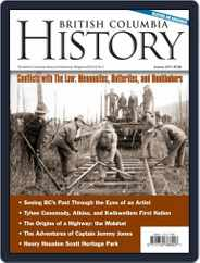 British Columbia History (Digital) Subscription June 1st, 2019 Issue