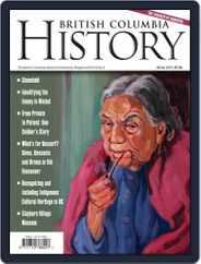 British Columbia History (Digital) Subscription December 1st, 2019 Issue