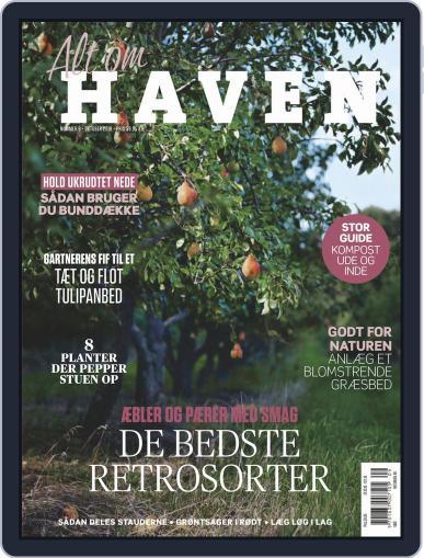 Alt om haven October 1st, 2018 Digital Back Issue Cover