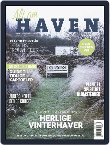 Alt om haven February 1st, 2019 Digital Back Issue Cover