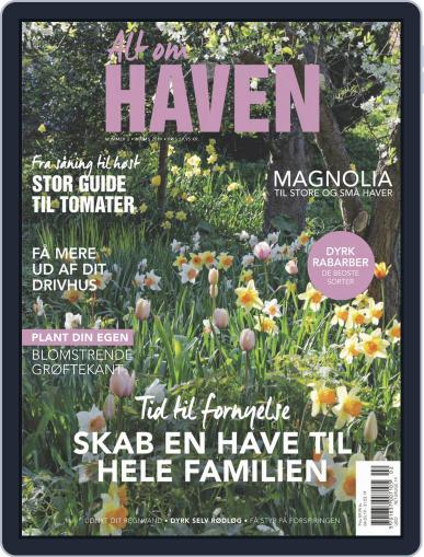 Alt om haven March 1st, 2019 Digital Back Issue Cover