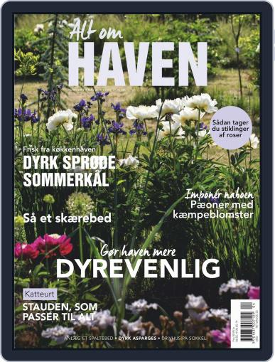 Alt om haven May 1st, 2019 Digital Back Issue Cover