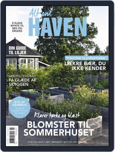 Alt om haven June 1st, 2019 Digital Back Issue Cover