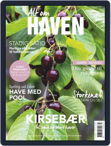 Alt om haven August 1st, 2019 Digital Back Issue Cover