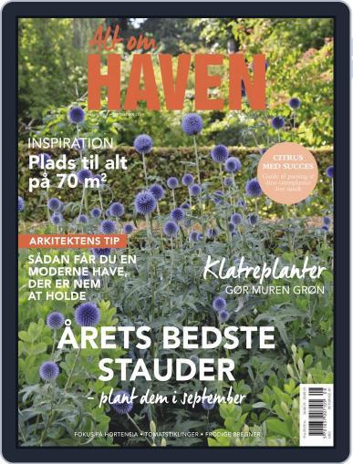 Alt om haven September 1st, 2019 Digital Back Issue Cover