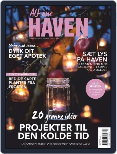 Alt om haven December 1st, 2019 Digital Back Issue Cover