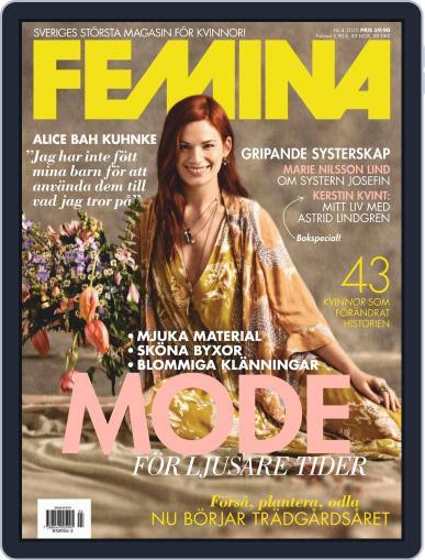 Femina Sweden (Digital) April 1st, 2020 Issue Cover