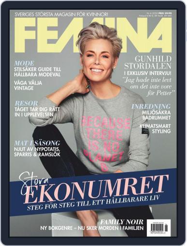 Femina Sweden (Digital) June 1st, 2020 Issue Cover