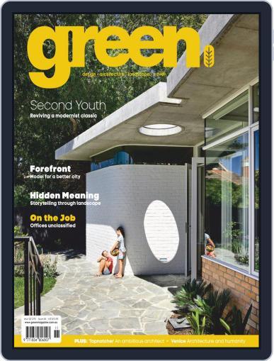 Green (Digital) November 1st, 2018 Issue Cover