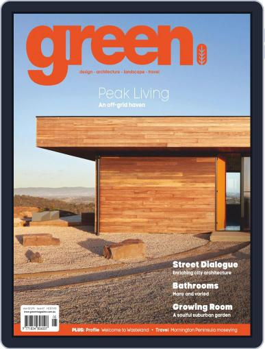 Green (Digital) May 1st, 2019 Issue Cover